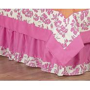 Sweet Jojo Designs Surf Pink Collection Queen Bed Skirt at Kmart.com
