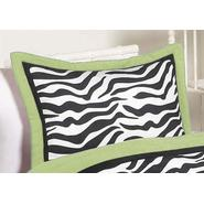 Sweet Jojo Designs Zebra Lime Collection Standard Pillow Sham at Kmart.com