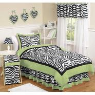 Sweet Jojo Designs Zebra Lime Collection 3pc Full/Queen Bedding Set at Kmart.com
