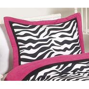 Sweet Jojo Designs Zebra Pink Collection Standard Pillow Sham at Kmart.com