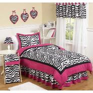 Sweet Jojo Designs Zebra Pink Collection 3pc Full/Queen Bedding Set at Kmart.com