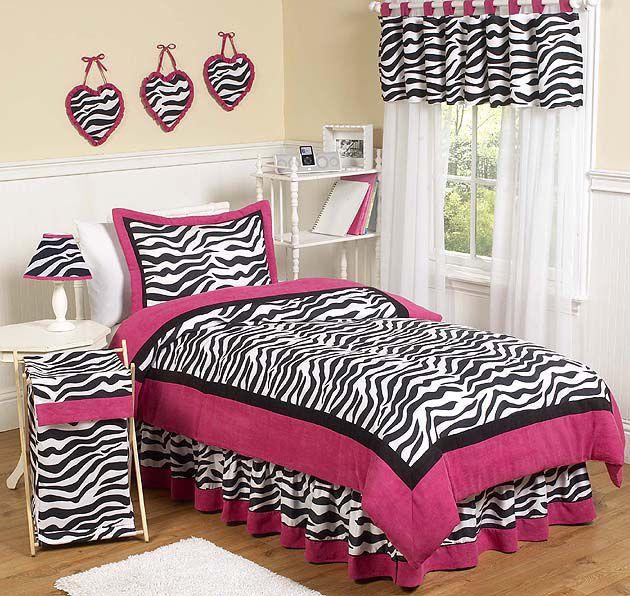 Sweet Jojo Designs-Zebra Pink Collection