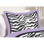 Sweet Jojo Designs Zebra Purple Collection Standard Pillow Sham at Kmart.com