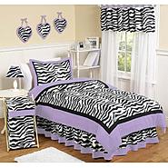 Sweet Jojo Designs Zebra Purple Collection at Kmart.com