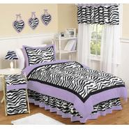 Sweet Jojo Designs Zebra Purple Collection 3pc Full/Queen Bedding Set at Kmart.com