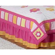 Sweet Jojo Designs Butterfly Pink and Orange Collection Queen Bed Skirt at Kmart.com