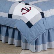 Sweet Jojo Designs Come Sail Away Collection Queen Bed Skirt at Kmart.com