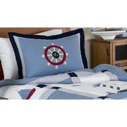 Sweet Jojo Designs Come Sail Away Collection Standard Pillow Sham at Kmart.com