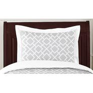 Sweet Jojo Designs Diamond Gray and White Collection Standard Pillow Sham at Kmart.com