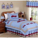 Sweet Jojo Designs Fire Truck Collection 3pc Full/Queen Bedding Set at mygofer.com