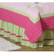 Sweet Jojo Designs Flower Pink and Green Collection Queen Bed Skirt at Kmart.com