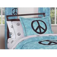 Sweet Jojo Designs Peace Blue Collection Standard Pillow Sham at Kmart.com