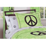 Sweet Jojo Designs Peace Green Collection Standard Pillow Sham at Kmart.com