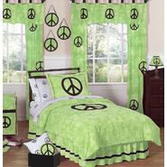 Sweet Jojo Designs Peace Green Collection 3pc Full/Queen Bedding Set at Kmart.com