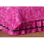 Sweet Jojo Designs Peace Pink Collection Queen Bed Skirt at Kmart.com