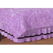 Sweet Jojo Designs Peace Purple Collection Queen Bed Skirt at Kmart.com