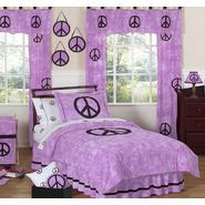 Sweet Jojo Designs Peace Purple Collection 3pc Full/Queen Bedding Set at Kmart.com