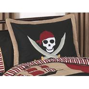 Sweet Jojo Designs Pirate Treasure Cove Collection Standard Pillow Sham at Kmart.com