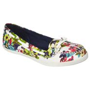Bongo Women's Casual Boat Shoe Port - Multi Floral at Kmart.com