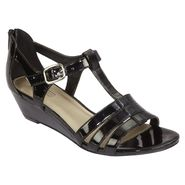 Laura Scott Women's Sandal Linda - Black at Kmart.com
