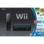Nintendo Wii Black Bundle w/ Wii Sports Wii Sports Resort at Sears.com