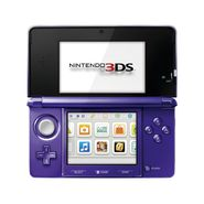 Nintendo 3DS Midnight Purple at Kmart.com