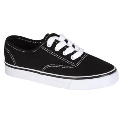 Youth Unisex Rewind Black Casual Oxford
