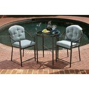 Jaclyn Smith Chandler 3pc High Bistro Set at Kmart.com