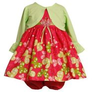 Ashley Ann Infant & Toddler Girl's Shrug/Dress Set 2-Piece Butterfly at Sears.com