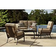 La-Z-Boy Outdoor Kennedy 4pc Seating Set at Sears.com