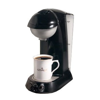 G90 Reversible Pod Coffee Brewer- Black