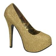 Bordello Women's Teeze 31G - Gold Mini Glitter at Sears.com