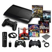 Sony Playstation 3 Slim 250GB Mega Bundle with 4 Games and Accessories at Sears.com