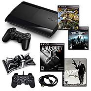 Sony Playstation 3 Slim 250GB Action Bundle with 4 Games, Charger, and More at Kmart.com