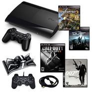 Sony Playstation 3 Slim 250GB Action Bundle with 4 Games, Charger, and More at Sears.com