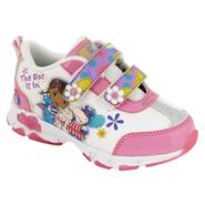 Disney Toddler Girl's Doc McStuffins Light Up Athletic Shoe -  White at Kmart.com