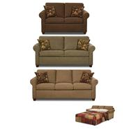 Beautyrest Collins Pecan Living Room Collection at Kmart.com