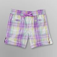 Toughskins Infant & Toddler Girl's Bermuda Shorts - Plaid at Sears.com