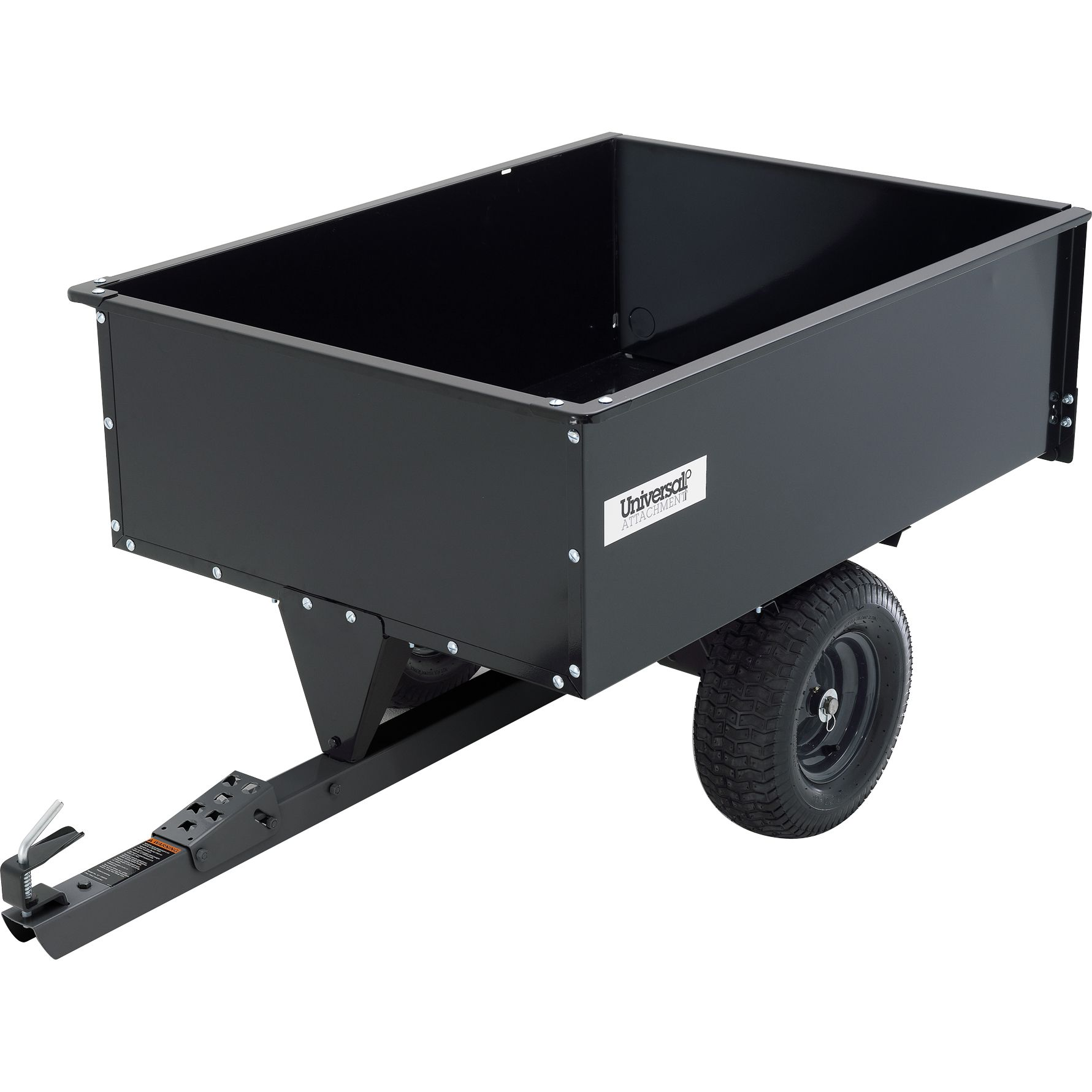 Steel Swivel Dump Cart