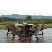 Agio Corseca 7pc bar set with firepit table at Sears.com