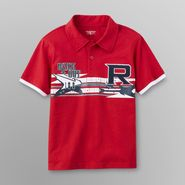 Toughskins Boy's Embellished Polo Shirt - Rock Out at Sears.com