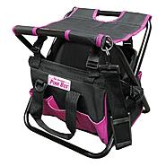 The Original Pink Box Pink Folding Tool Bag with Seat at Sears.com