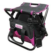 The Original Pink Box Pink Folding Tool Bag with Seat at Craftsman.com