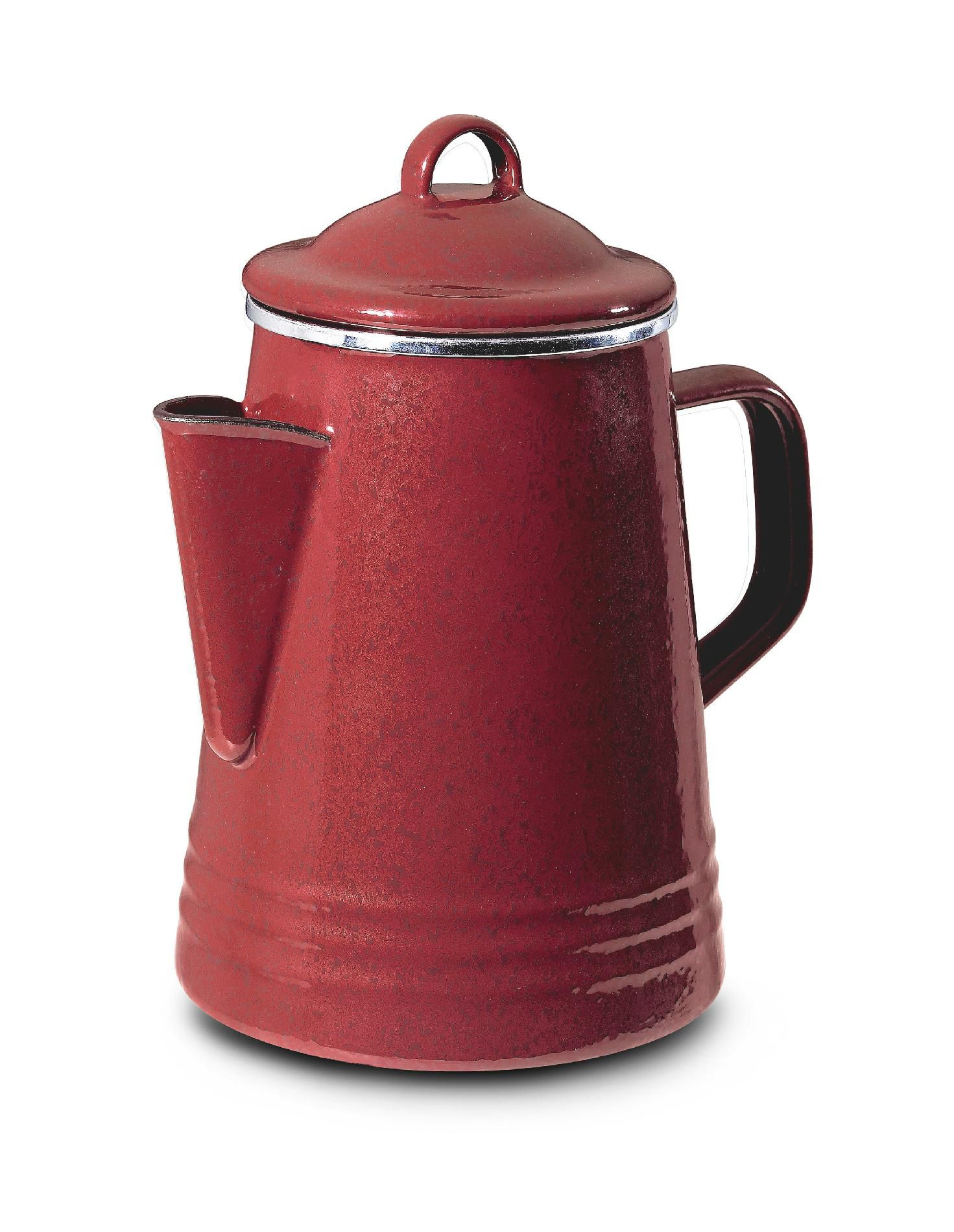 8-Cup Stovetop Percolator, Red