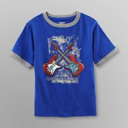 Toughskins Boy's Graphic T-Shirt - Crossed Guitars at Sears.com