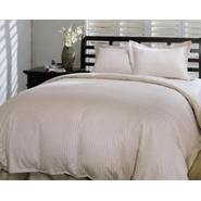 Blueridge Home Fashions 350 Thread Count Damask Stripe Alternative Down Comforter at Kmart.com