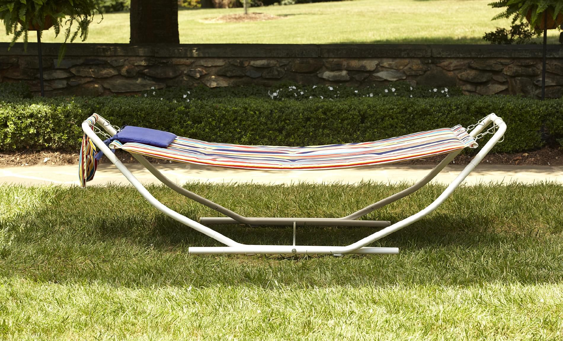 Swell Garden Oasis Folding Hammock Machost Co Dining Chair Design Ideas Machostcouk
