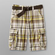 Canyon River Blues Boy's Shorts & Belt - Madras Plaid at Sears.com