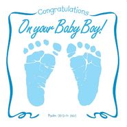 Twin Sisters Productions Congraulations On Your Baby Boy CD Greeting Card at Kmart.com