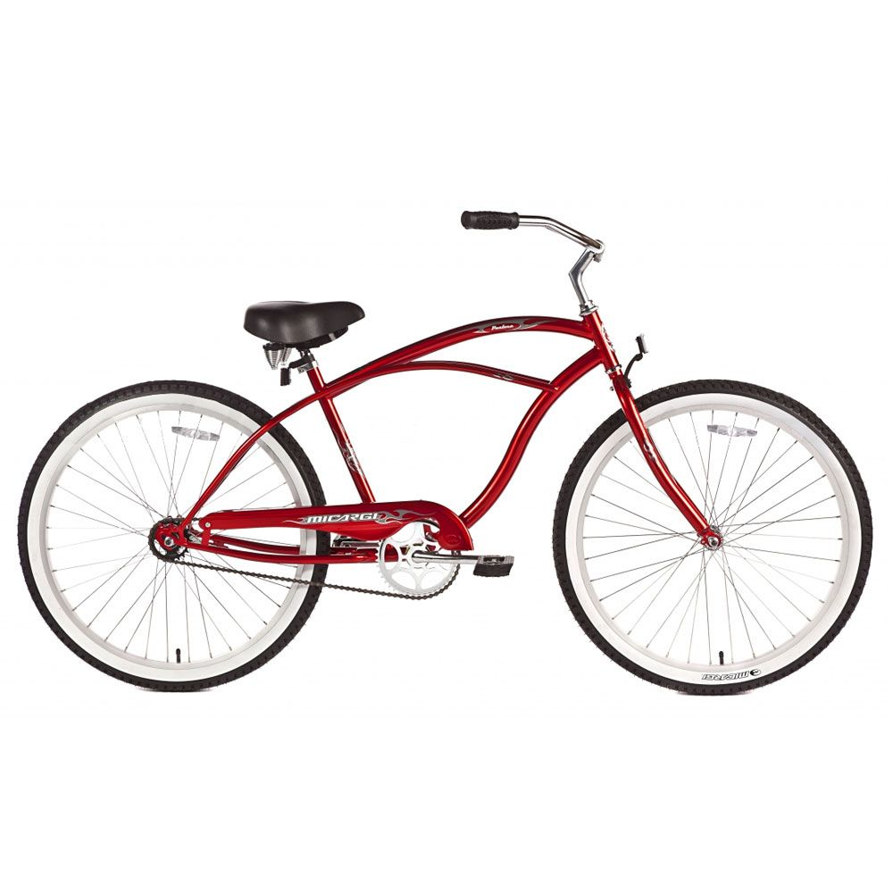Micargi Red Pantera Beach Cruiser Male